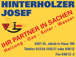 Hinterholzer Installation